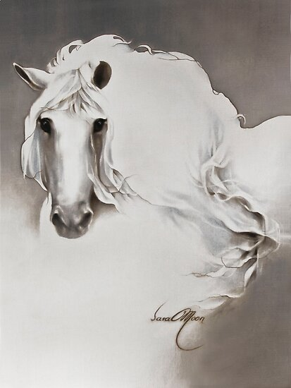 """""""The Queen"""" Painting in Oils by Sara Moon"""