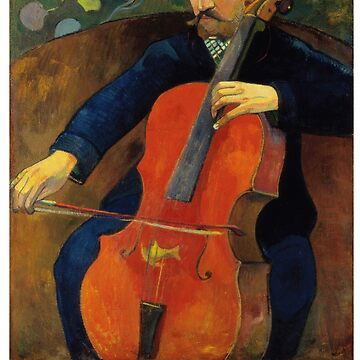 The Cellist by Paul Gauguin by Chunga