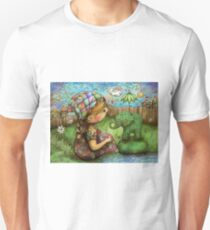 There's an Elephant in my Garden Unisex T-Shirt