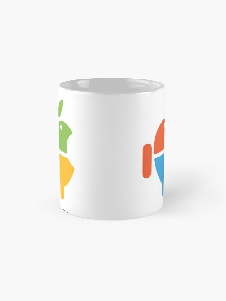 Alternate view of Freaky Logo - windows apple android Mug
