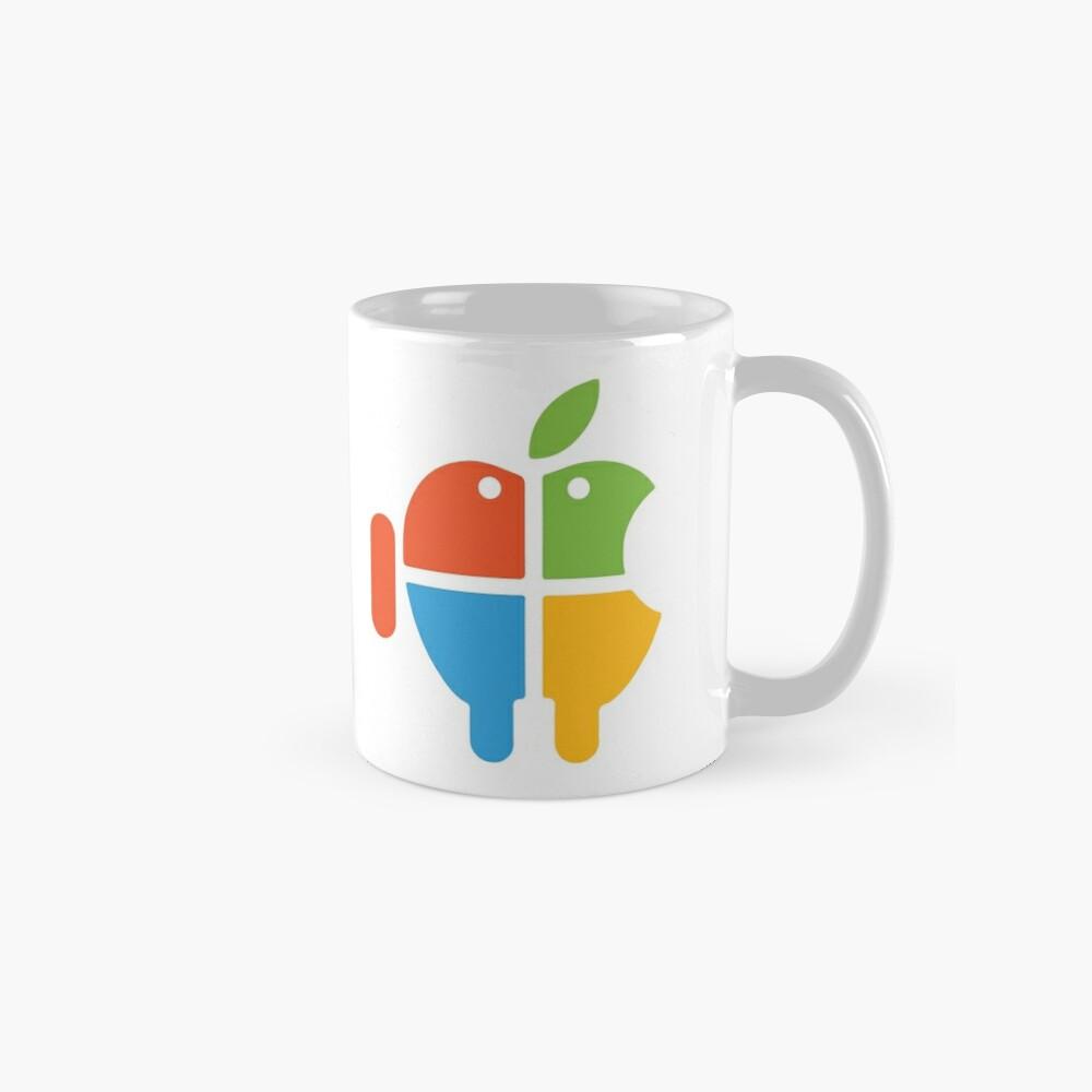 Freaky Logo - windows apple android Mugs