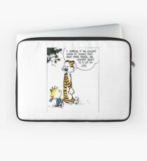 Calvin and Hobbes Quote Laptop Sleeve