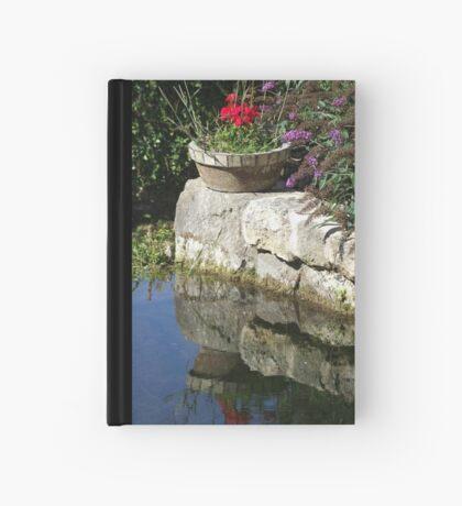 Garden Reflection Hardcover Journal
