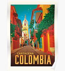 Kolumbien Cartagena Poster