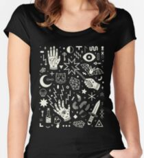 Witchcraft Women's Fitted Scoop T-Shirt