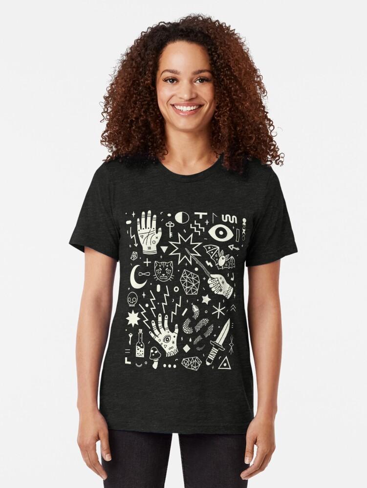 Alternate view of Witchcraft Tri-blend T-Shirt