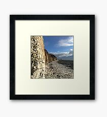Sewerby to Danes Dyke Framed Art Print