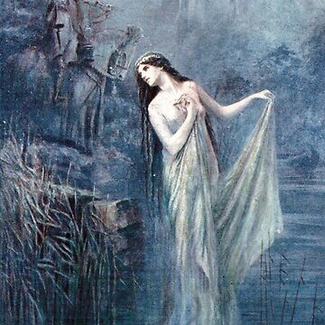 Lady of the Lake - Lancelot Speed  by forgottenbeauty