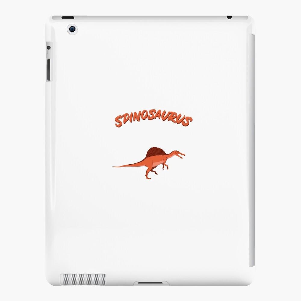 Spinosaurus, tiempos prehistóricos, dinosaurios, animal favorito, regalo, niños, T-Rex Funda y vinilo para iPad