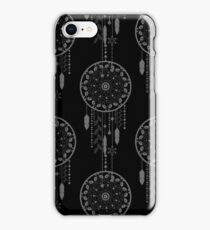 Seamless vector illustration with dream catchers iPhone Case/Skin
