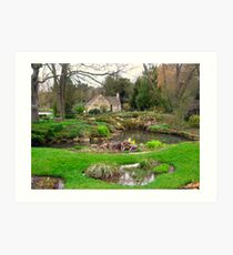 Cotswolds Art Print