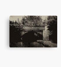 Bridge 66 North Oxford Canal no.2 Canvas Print