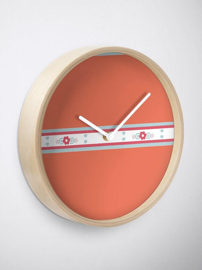 Alternate view of Winter Hearts - Got Sass? Clock