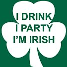 St Patrick's Day Shirt by bigredfro