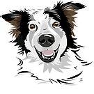 Willi - Fröhlicher Straßenhundmix von Bettina Kröger