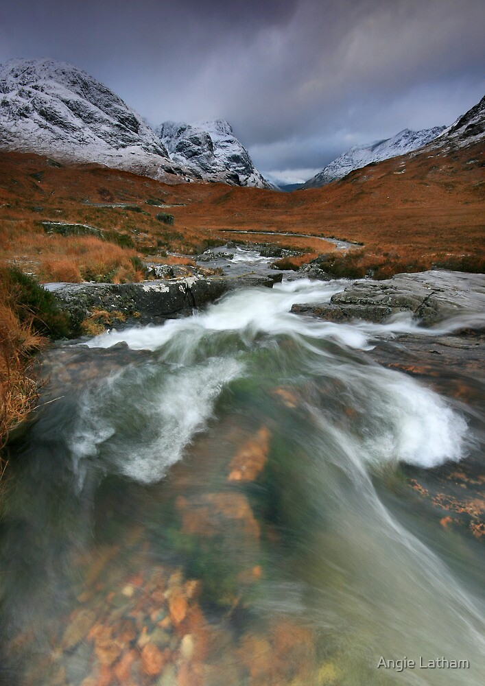 Scotland : Glencoe Flow... by Angie Latham