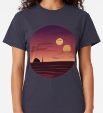 The Binary Sunset Classic T-Shirt