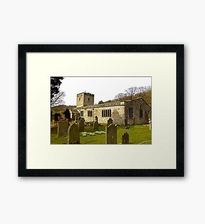 Hubberholme Church Framed Print