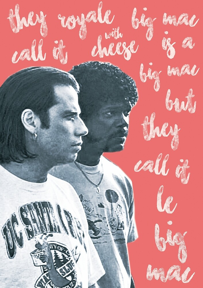 «Vicent Vega y Jules Winnfield - Pulp Fiction» de Ferrazi