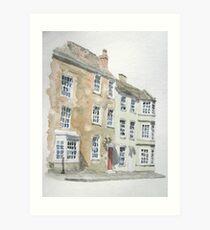Castle Street, Bridgwater Art Print