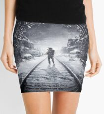 Metro Exodus Artwork Mini Skirt