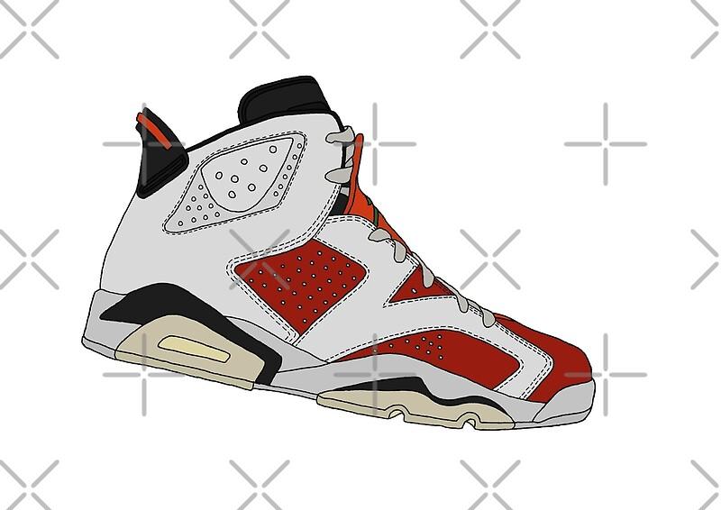 detailing d033a 08573 Jordan 6 Retro - Gatorade Like Mike   Art Print