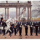 Kaiser Wilhelm reviews the Royal Guard by edsimoneit