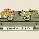 vintage spring video cassette by bananina