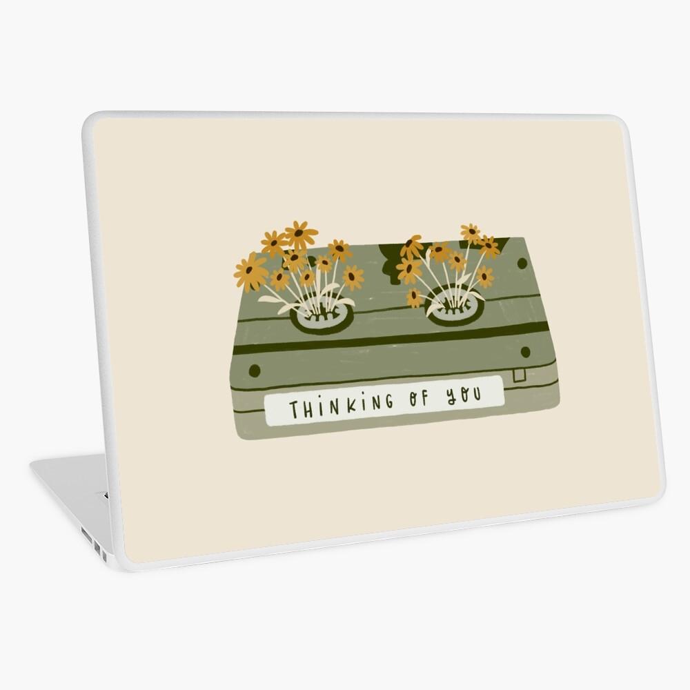 vintage spring video cassette Laptop Skin