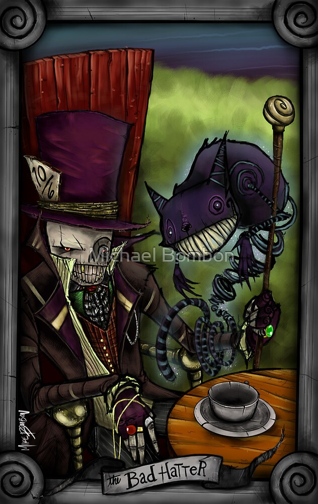 The Bad Hatter by Michael Bombon