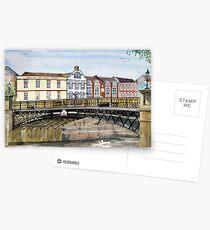 """""""Walter's Bridge"""" - Bridgwater, Somerset Postcards"""