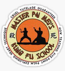 Pai Mei Academy of Cruel Tutelage Sticker