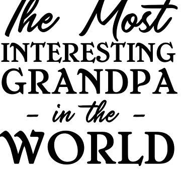 Interesting grandpa by familyman