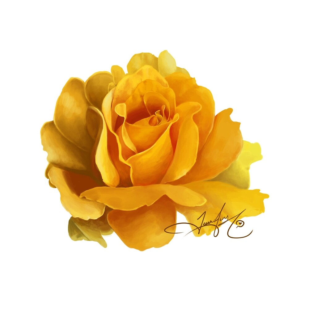 Yellow Rose by jessicaferry
