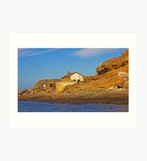 Deserted house on Halifax island Art Print