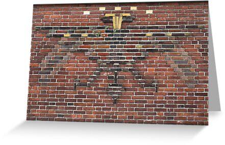 Beautiful brick - Dual-headed eagle by Marjolein Katsma