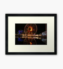 California aventure Framed Print