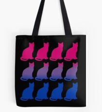 Bi Pride Cats Tote Bag
