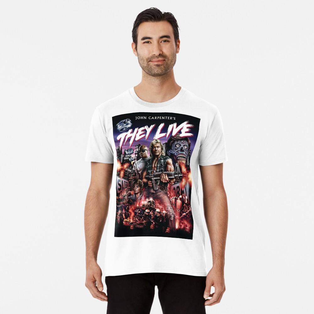 Sie leben Premium T-Shirt