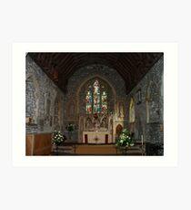 Chancel Boughton Monchelsea Art Print