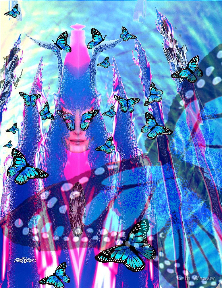 Blue Monarch Mistress by Seth  Weaver