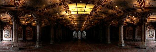 Bethesda Terrace. Central Park, Ny. by garyfoto
