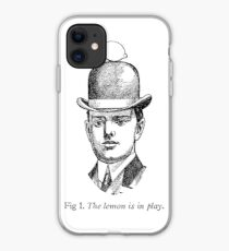 The lemon is in play iPhone Case