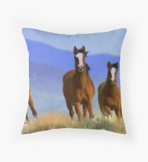 Three Amigos  Throw Pillow
