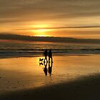 Let's stroll into the Sunset by Christine  Wilson
