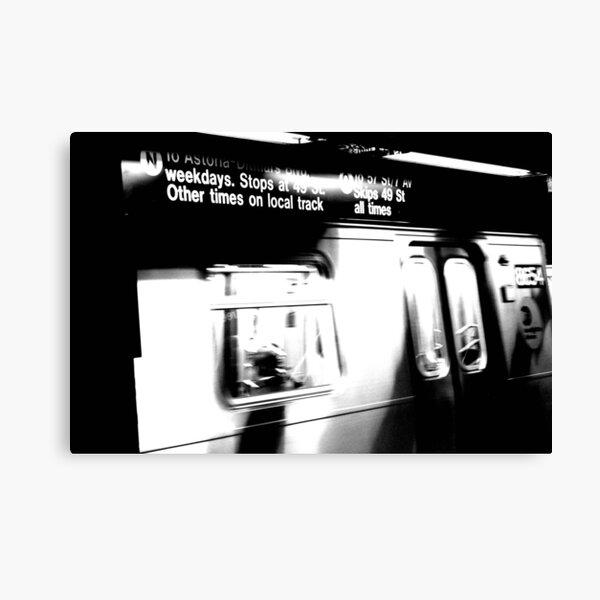 N Train Canvas Print