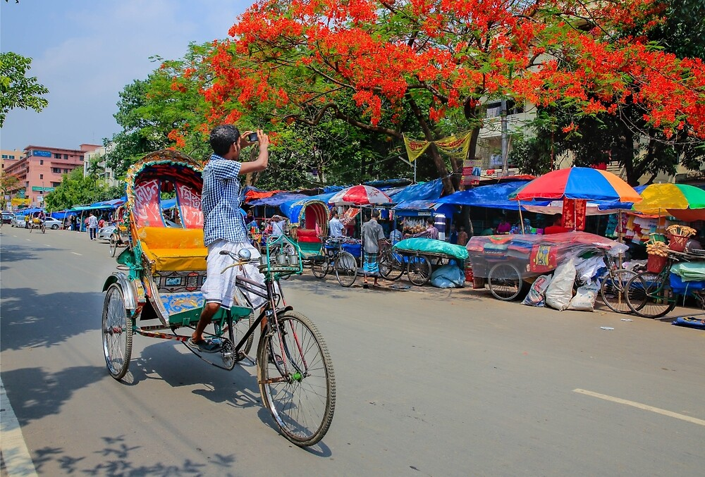 A rickshaw puller became photographers by shamim