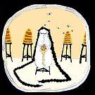 the Beekeeper (card version) by emmaklingbeil