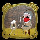 Feeding my Monster (card version) by emmaklingbeil