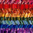 Gilbert Baker Pride Flag by Jennifer Frederick